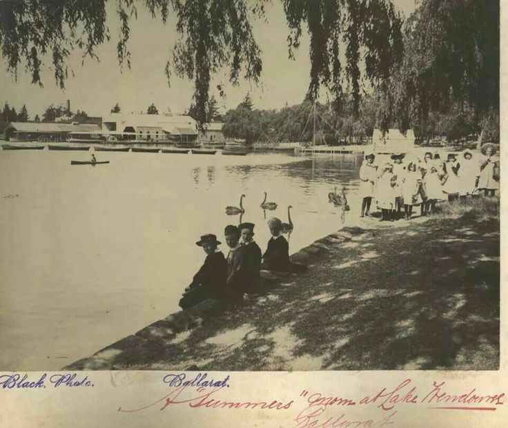 Days Gone By..... Lake Wendouree, Ballarat, Victoria Australia  .... Contact me for marriage celebrant services, Australia...    ... Picture from Ballarat Council.