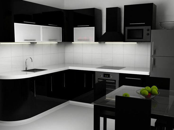 Brilliant Black And White Kitchen Ideas How To Design Kitchens