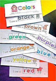 huge fan of Dr. Jean: Kindergarten Colors Words, Kids Tomorrow, Books Printable Site Words, Kindergarten Teacher Blog, Colors Activities Kindergarten, Teaching Colors Kindergarten, Colors Booklet, Huge Fans, Colors Books