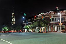 Chapel Hill - another corner in the Triangle. Home to the UNC Tarheels (but we try to not hold that against them). Here's a view of Franklin Street, uncharacteristically quiet at night.