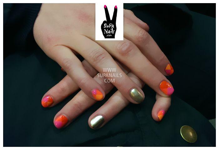 supa nails colorful gold - photo #6