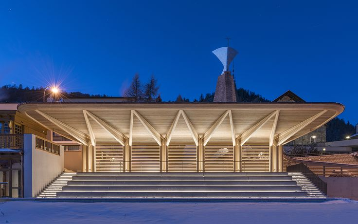 Kulm Eispavillon   Foster + Partners