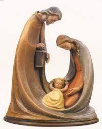 Resultado de imagem para escultura sagrada familia