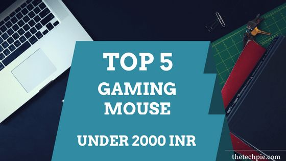 Top 5 Best #Gaming Mouse Under 2000 INR  #Top5 #PCGaming #VideoGames #thetechpie