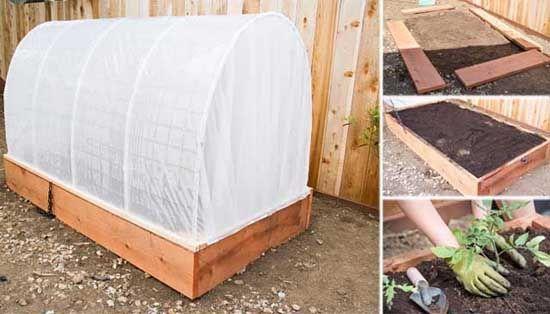 DIY nápad s návodom ako si doma vyrobiť malý, no šikovný homemade fóliovník, v ktorom si môžete dopestovať vlastnú zeleninu. Urob si sám inšpirácia