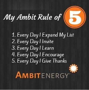 Ambit Energy's Rule of 5