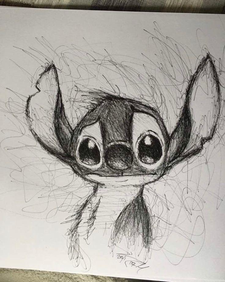regram @art_spotlight Stitch! Von JM_artwork