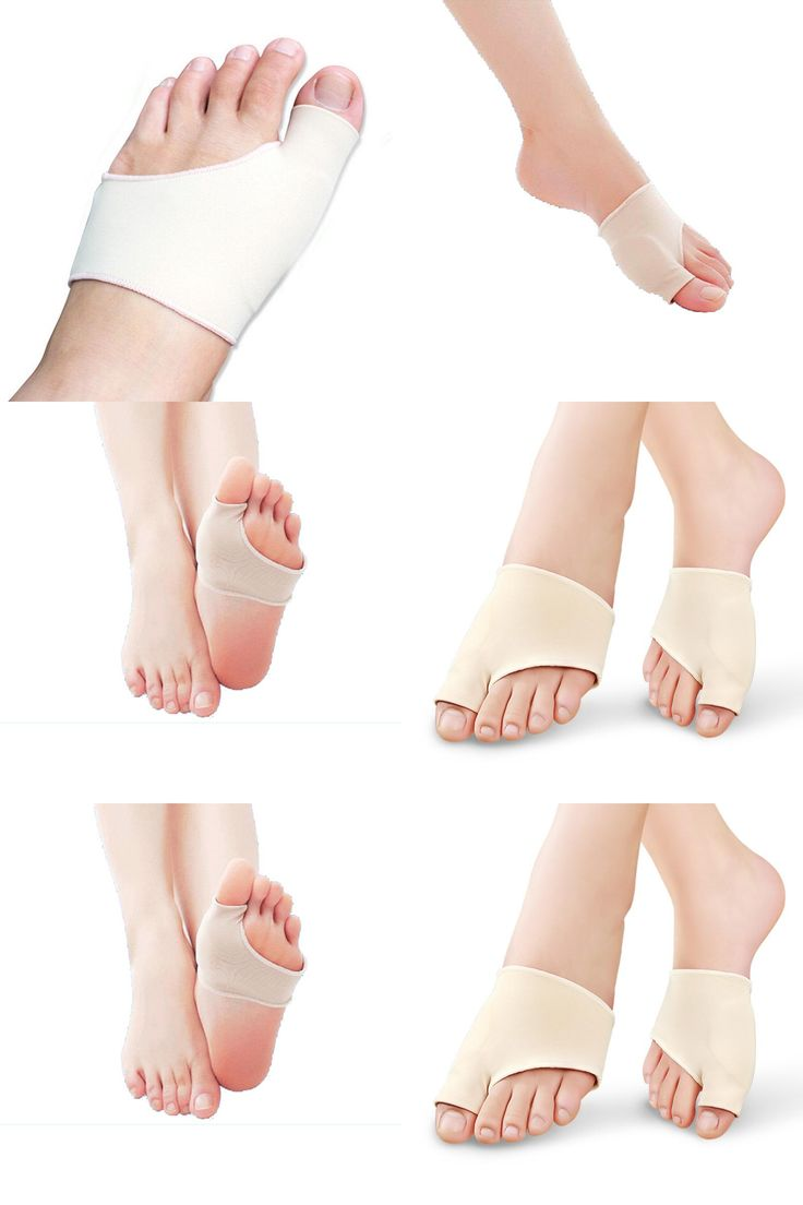 [Visit to Buy] 1Pair Silicon Insoles Socks Orthotics Overlapping Big Toes Correction Bunion Gel Sleeve Hallux Valgus Bone Care Pain Relieve #Advertisement