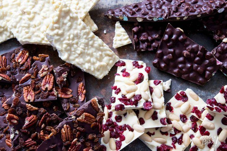 Zelf chocoladebrokken maken – recept - Rutger Bakt