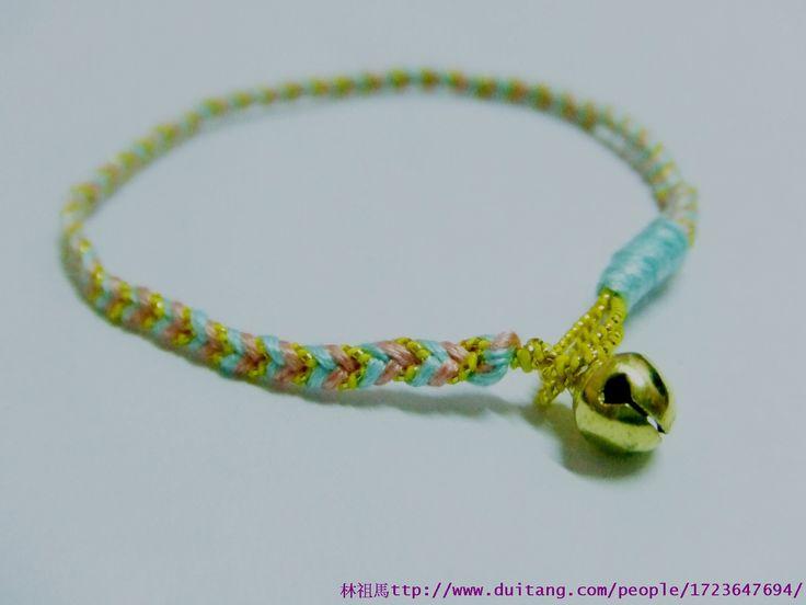 Lin Zuma の Paradise ♠: braccialetto tricolore coda di pesce treccia