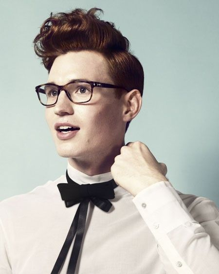 Hairstyles for the discriminating offbeat groom. #male #hairstyle #wedding #groom