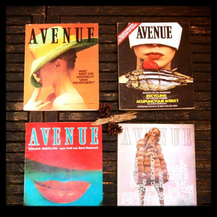 Avenue's from 1967, 1968 and 1975