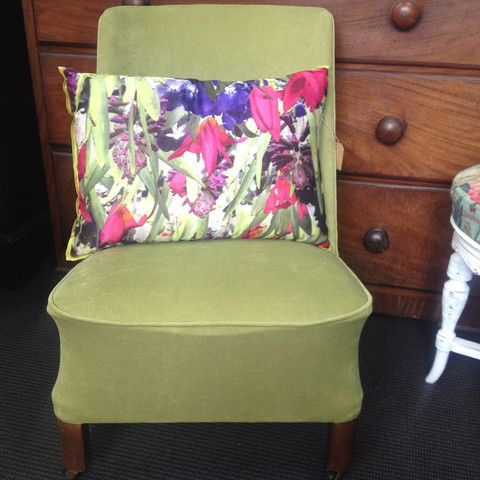 Small Nursing Chair - Cool but 'Oh So HOT' - ReVamp Vintage
