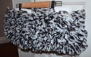 #knitting #skirt #tulle-mesh #ice-yarns #ruffles #zebra #fashion #design #knitravel see project overview here: http://knitravel.com/2014/10/20/fo-zebra-tulle-ruffle-skirt/