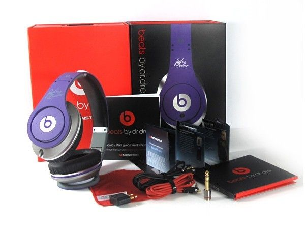 Beats By Dr Dre Just Beats Solo High Definition On Ear Purple Headphones