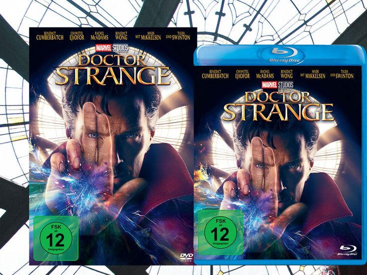 DOCTOR STRANGE - Blu-ray DVD German Packshot - Marvel - kulturmaterial