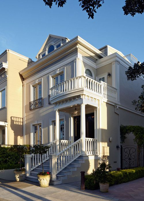 129 best classic townhouse exteriors images on pinterest for Townhouse exterior