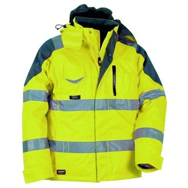 """The Cofra Rescue High Visibility Safety Jacket compliments the """"Safe"""" trousers for the ultimate hi visibility protective uniform, and they are certified EN 342 when worn together."""