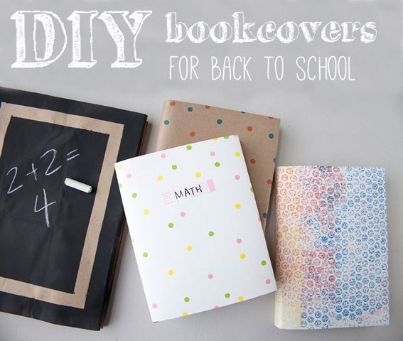 Back-to-school crafts kids can actually use Textbook covers | Sheknows.com