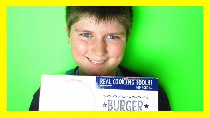 Master Chef Junior Burger Set!