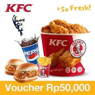 [47,000](▼6%)☆Promo KFC☆Special Promotion☆Tersedia seluruh cabang KFC di Indonesia☆KFC☆Seruluh indonesa☆