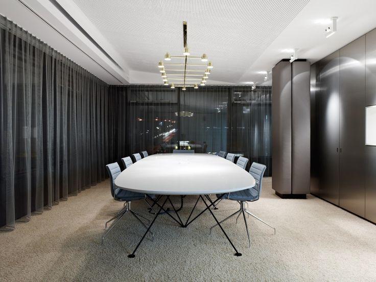 Headquarters schlaich bergermann und partner / Ippolito Fleitz Group GmbH (punched metal ceiling..)