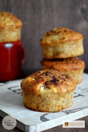 Muffins de Manzana y Canela http://www.cocinaland.com/recipe-items/muffins-de-manzana-y-canela/ @cocinaland @conharina