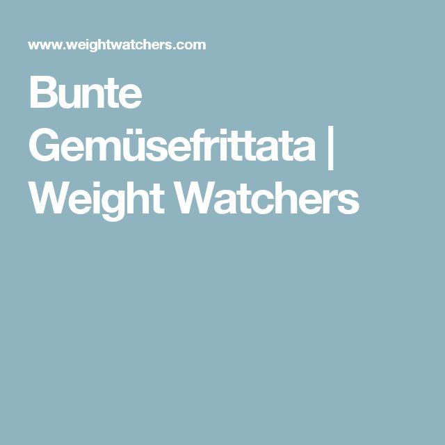 Bunte Gemüsefrittata | Weight Watchers
