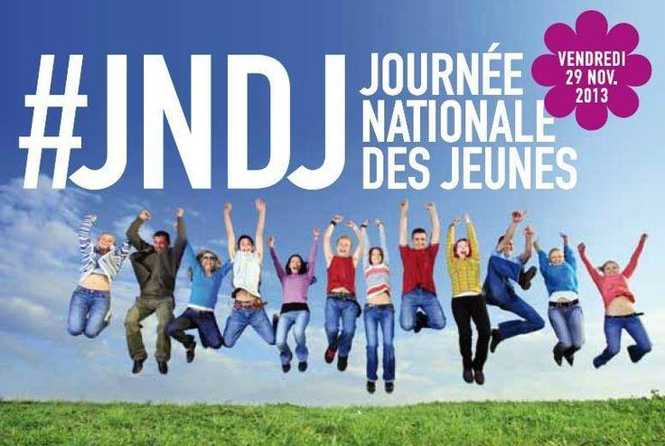 La 3ème édition de la JNDJ, Journée Nationale des Jeunes, placée sous le haut Patronage du Ministère de l'Education Nationale, se déroule aujourd'hui  vendredi 29 novembre !  Vite, tous les renseignements sur notre site !  #education #academie #paris #academieparis #jeunes #jndj #ecole #college #lycee
