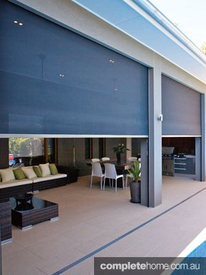 Make the most of your entertaining area with a state-of-the-art sunshade. Catering to the love of outdoor living, Zipscreen provides privacy as well as protection from sun, wind, rain and insects all year-round.
