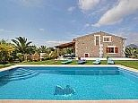 1300 eur Holiday Villa for rent in Pollenca, Mallorca. Private pool. Holiday rental direct from owner B1131