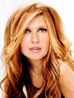 Serious hair envy for Connie Britton. She always looks so beautiful....love her hair.