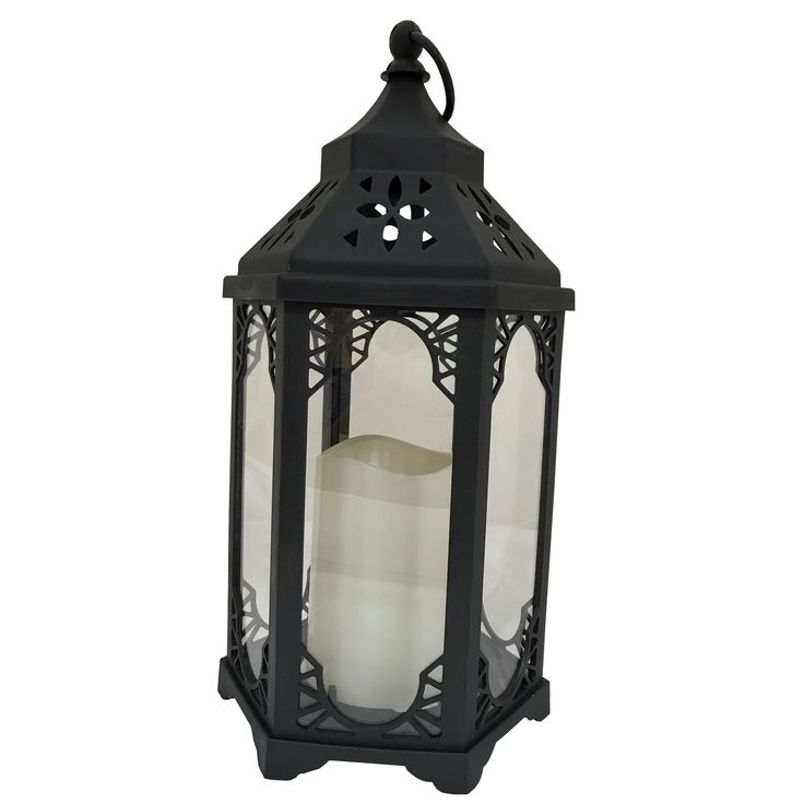 Creative Motion Industries Battery-Operated Decorative LED Lantern