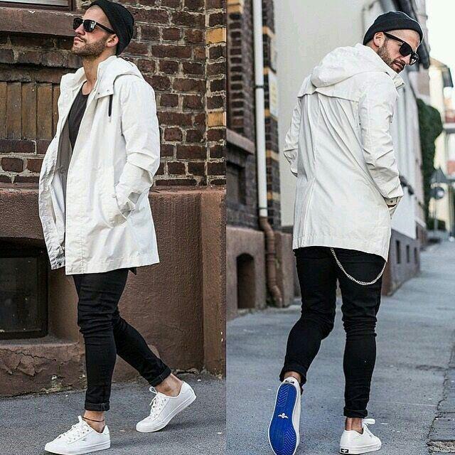 Kosta Williams #Fashion #Street #urban #inspiration #Men #black #white