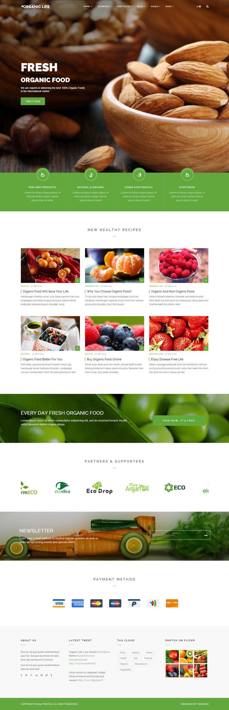 Oragnic Life is Premium Responsive Parallax WordPress Food theme. WooCommerce. Bootstrap. Visual Composer. Revolution Slider. http://www.responsivemiracle.com/cms/organic-life-premium-responsive-ecology-environmental-wordpress-theme/
