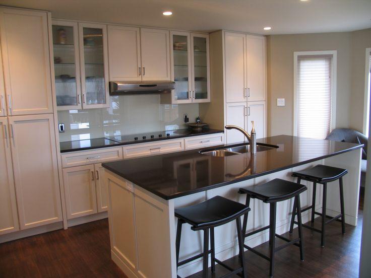 Cabinets: Maple - Cornsilk / Countertops: Cambrian Quartz ... on Maple Kitchen Cabinets With Quartz Countertops  id=56968