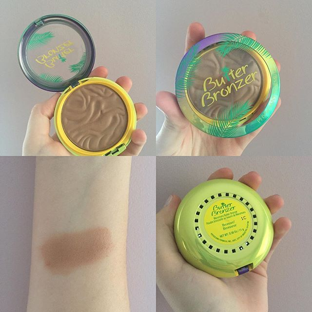 Physician's Formula Butter Bronzer. Beautiful bronzer color that is not too warm or too cool with a nice sheen.