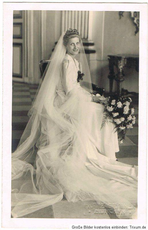 Royal Wedding MArie Elisabeth Von Bayern 1930s Royal