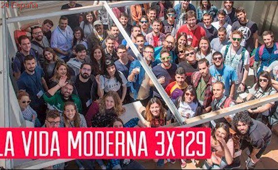 La Vida Moderna 3x129...es sacarte las oposiciones con los vídeos de PlayGround