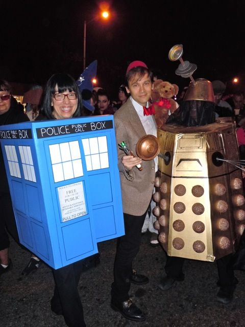 Halloween Dr Who costumes