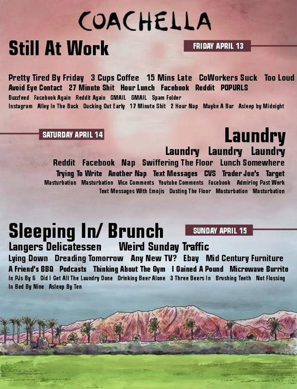 The Coachella Weekend Lineup for People Who Aren't Going to Coachella