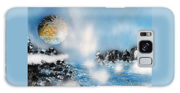 Light Rain Galaxy S8 Case Printed with Fine Art spray painting image Light Rain by Nandor Molnar (When you visit the Shop, change the orientation, background color and image size as you wish)