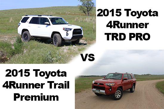 2015 toyota 4runner trail premium review trd pro vs trail premium 4runner pinterest. Black Bedroom Furniture Sets. Home Design Ideas
