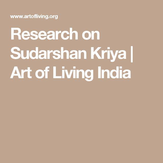Research on Sudarshan Kriya | Art of Living India
