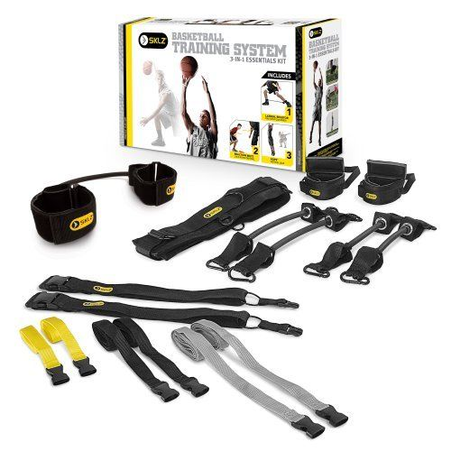 SKLZ Basketball Training System - 3-in-1 Essentials Kit by SKLZ. $64.99. The Basketball Training System brings together all of the core basketball training items in one cohesive package. The best players in the world spend countless hours training during the off-season and in preparation of games. To be the best player you can on the court, it all starts with the proper training off the court.. Save 35% Off!