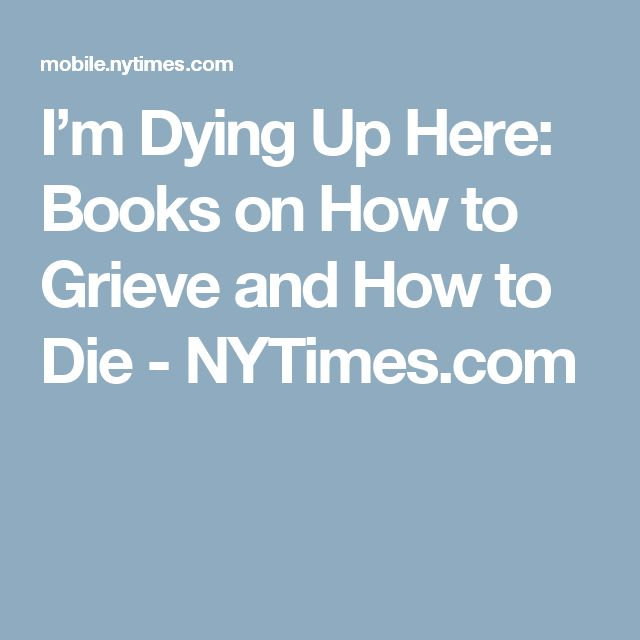 books on dealing with death