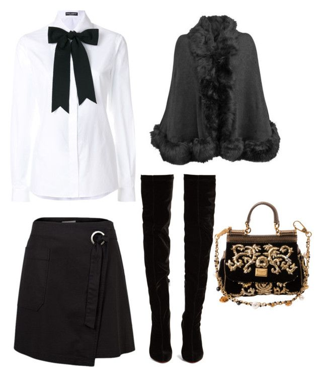 """Untitled #125"" by denisapurple on Polyvore featuring Dolce&Gabbana and Christian Louboutin"