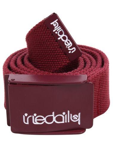 Stainless 2 Belt [maroon] // #iriedaily // www.iriedaily.de
