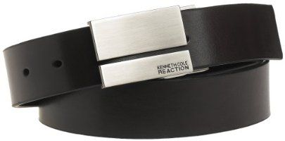 Kenneth Cole Reaction reversible leather belt (Black/brown size 36)