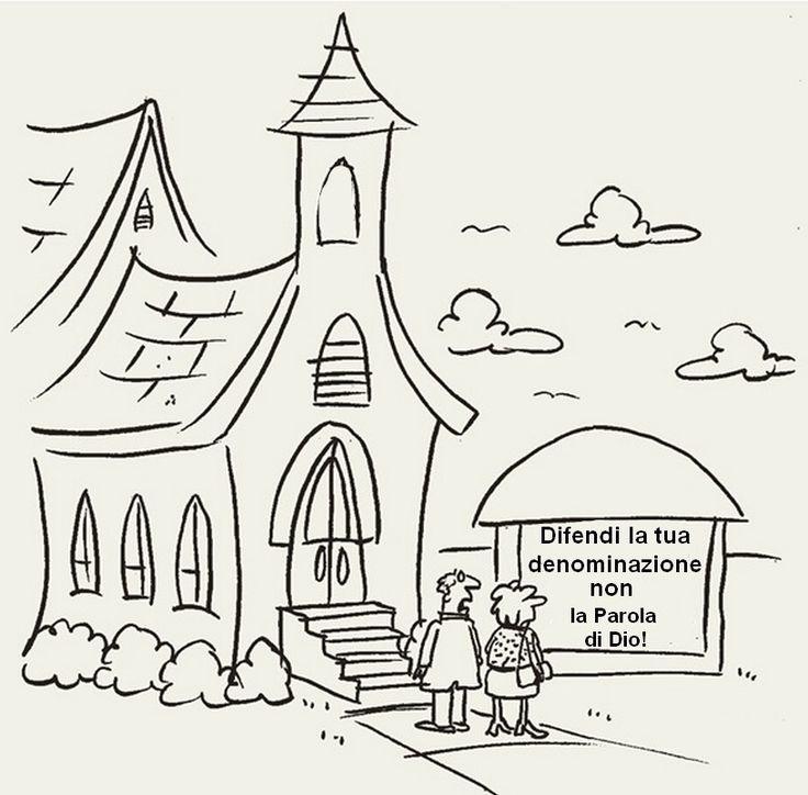 Difendi la tua denominazione, non la Parola di Dio! |———> Avete presente quei sedicenti pastori che dinnanzi alle eresie di perdizione della Chiesa papista – cioè dinnanzi alle…
